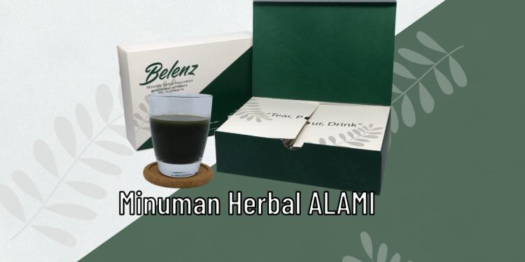Belenz || Minuman Herbal Melangsingkan