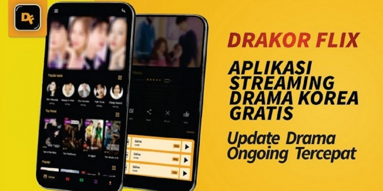 Aplikasi streaming drama korea/ Playstore