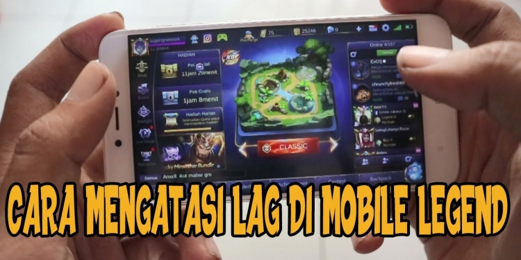 cara mengatasi lag di mobile legends