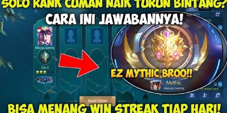 Cara Win Streak Mobile Legends Solo Rank 2021