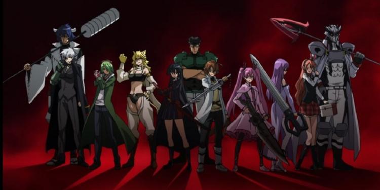 Anggota Night Raid Akame ga Kill