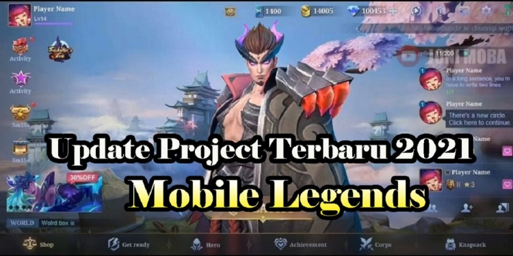 update project mobile legends 2021