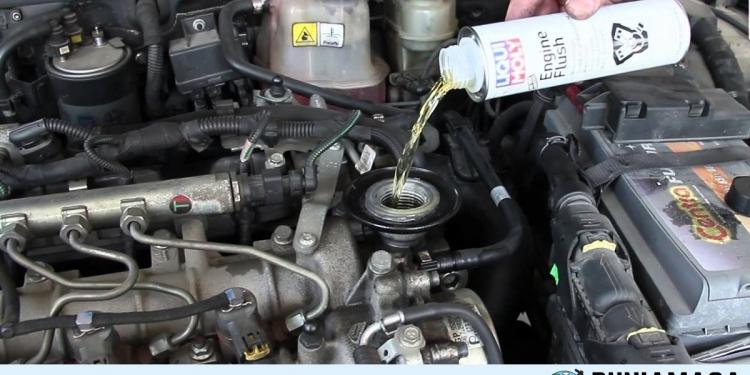 bahaya engine flush