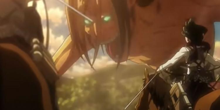 Potongan video anime Attack on Titan. (Youtube.com/Animelab)