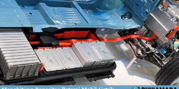 Menghitung kapasitas baterai mobil listrik