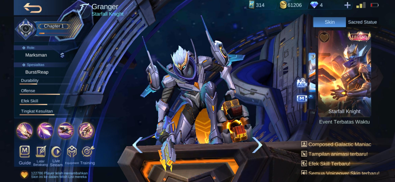 Build Granger Paling OP 20 Yang Paling Ditakuti Oleh Hero Musuh ...