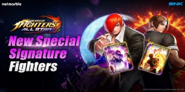 King of Fighters ALLSTAR merilis Spesial Signature Kyo dan Iori